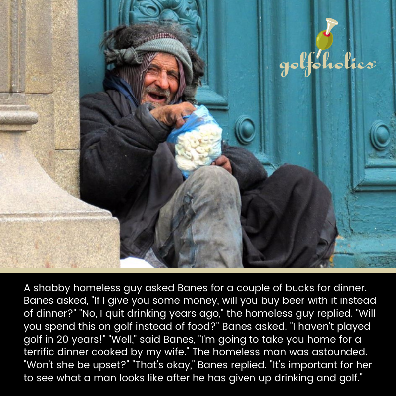 Dug this one out of the archives and dusted it off. Enjoy. And help a homeless person out today.