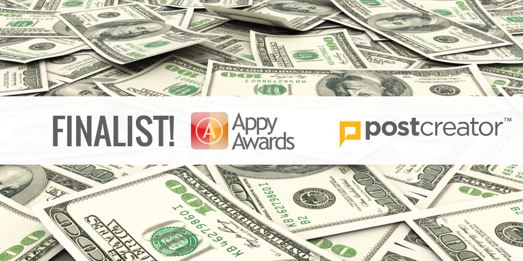 APPY DAYS ARE HERE! Fingers crossed @mediapost #AppyAwards
